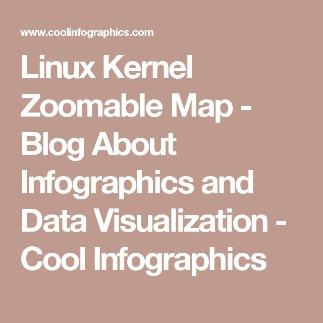 Linux Kernel ZoomableMap - Blog About Infographics and Data Visualization - Cool Infographics