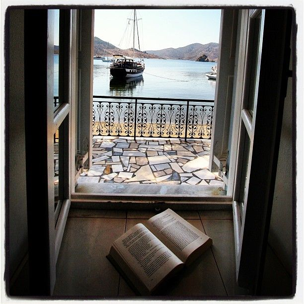 Enjoy a peaceful afternoon with a good book at Patmos Aktis Suites & Spa....  Thank you @antonioquaranta69 for this photo! (http://instagram.com/p/eKZrS3sw7I/) — at Patmos Aktis Suites & Spa.