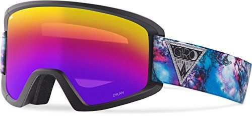 Giro DYLAN ASIAN FIT Snow Goggle (BLACK GALAXY,ROSE SPECTRUM) *** More info could be found at the image url.
