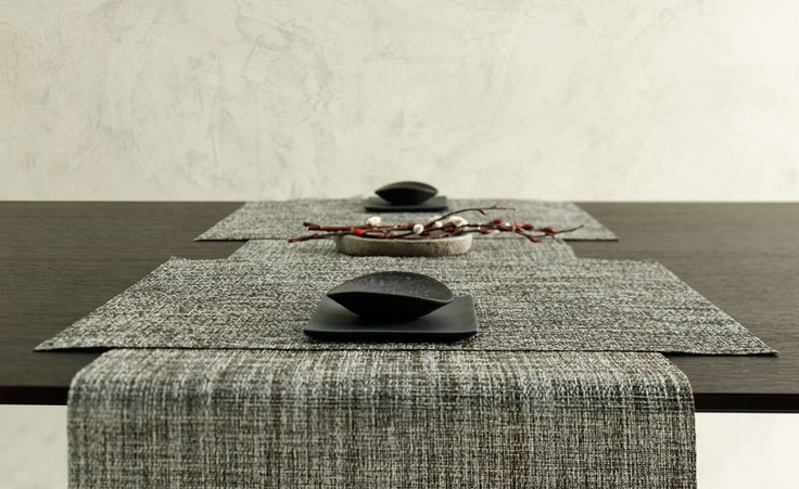 Contemporary Tabletop. Decor | Modern Placemat. Table runner.