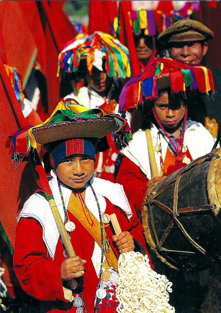 Kids from Chiapas, México