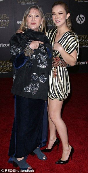 Carrie Fisher & Billie Catherine Lourd