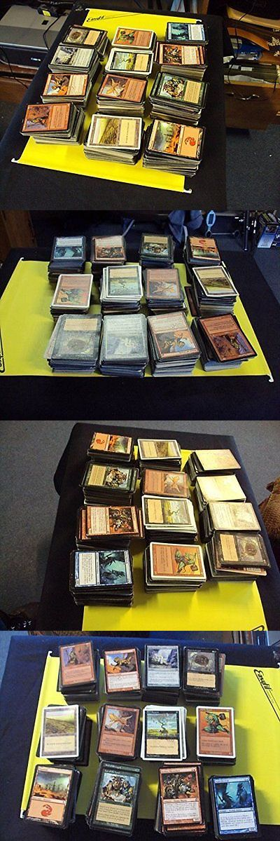 MTG Mixed Card Lots 19113: Magic: The Gathering Magic Card Collection 2000+ Cards!!! Includes Foils, Rares, -> BUY IT NOW ONLY: $31.65 on eBay!