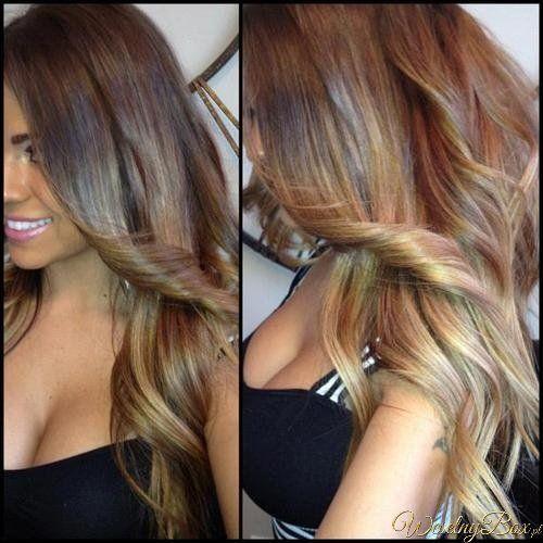 ombre hair natural | Ombre hair - naturalne i pełne gry świateł fryzury! 16 stycznia ...