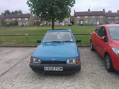 1988 Ford Orion Blue.  No Reserve    - http://classiccarsunder1000.com/archives/16249