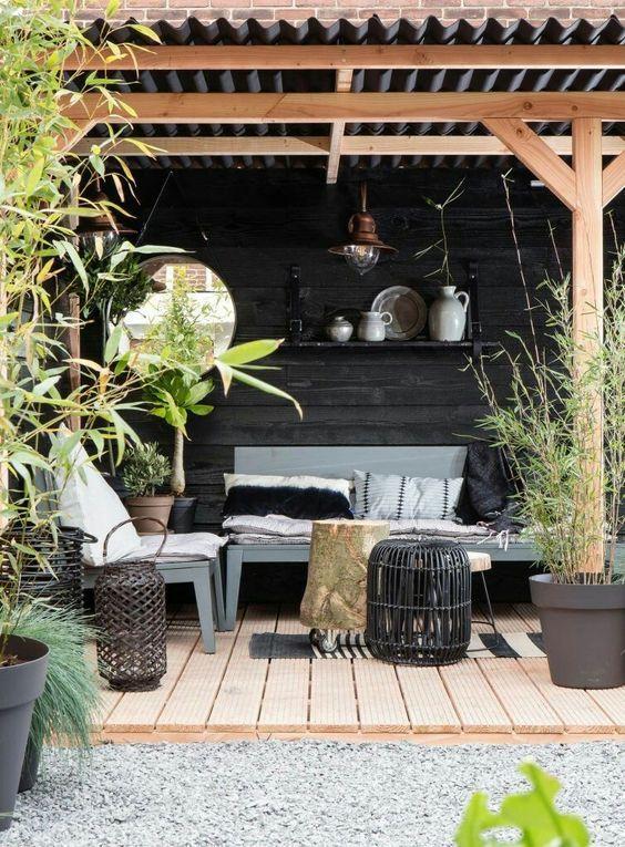 La Couleur D Une Belle Terrasse Project Inside Outdoors