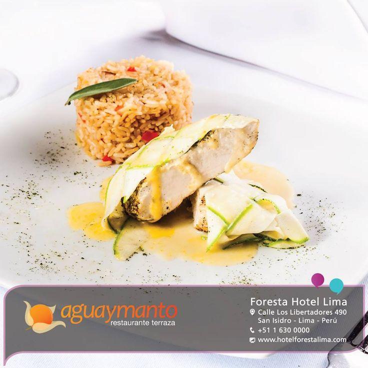 Sábana verde de pollo Deja que tu paladar disfrute del lanzamiento de nuestra Nueva Carta de Almuerzos Menús. ¡Te esperamos de lunes a domingo de 12:30 a 3:30 p.m. en Aguaymanto tu Restaurante Terraza en San Isidro!
