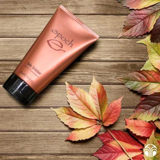 Epoch Sole Solution features crushed allspice berry, helping to keep your feet smooth, rejuvenated, and moisturized.