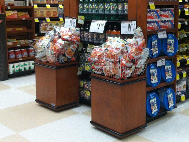 bov merchandiser cms display fixtures - Beer Merchandiser