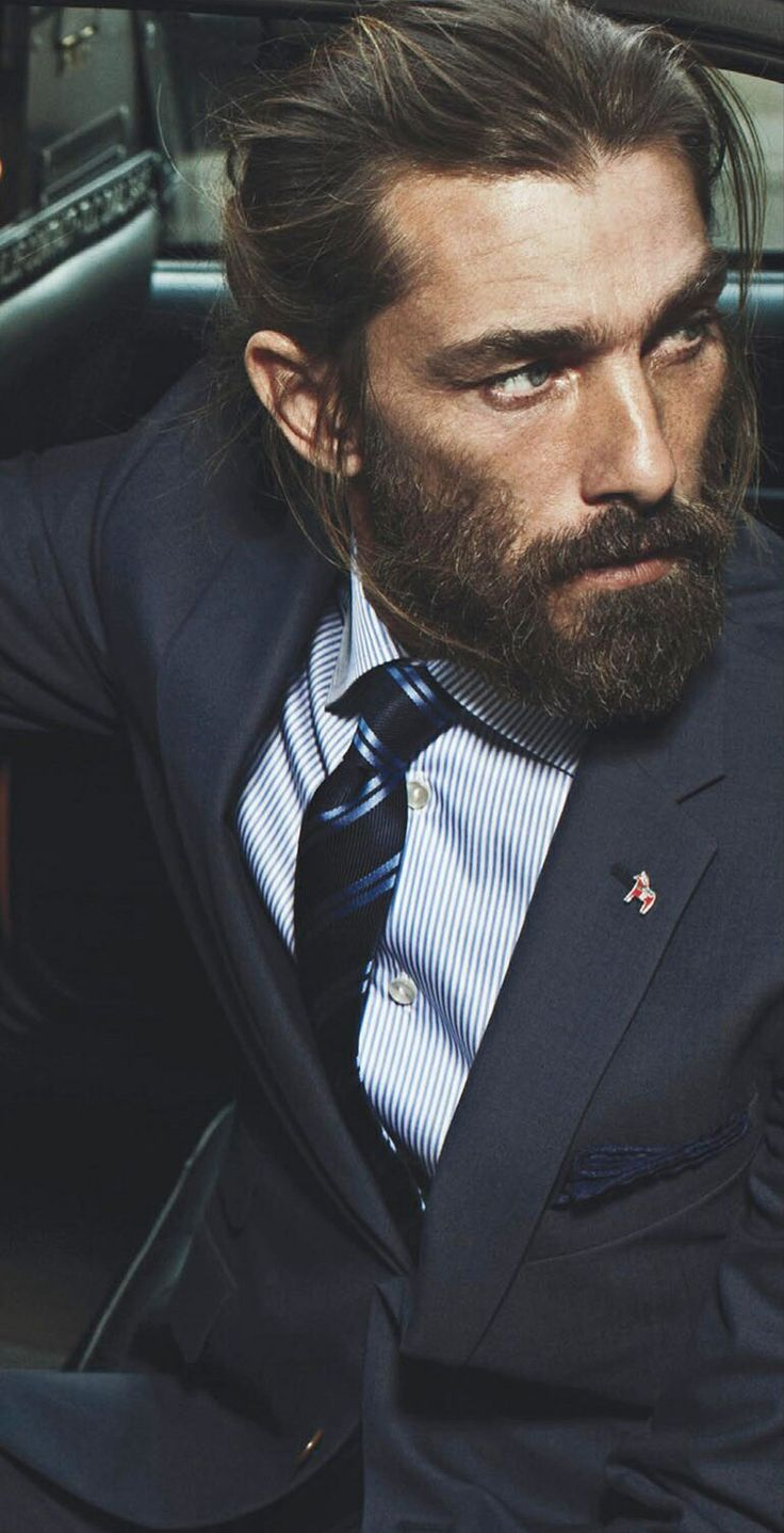 Swell Long Hair Classy And Beards On Pinterest Short Hairstyles For Black Women Fulllsitofus