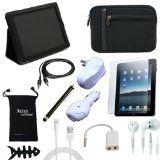12-Item Accessory Bundle for Apple iPad 4