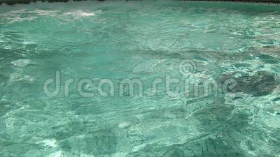 Rippling water texture bubbling - jacuzzi pool.