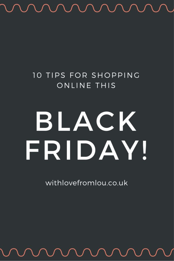 10 Tips For Shopping Online This Black Friday