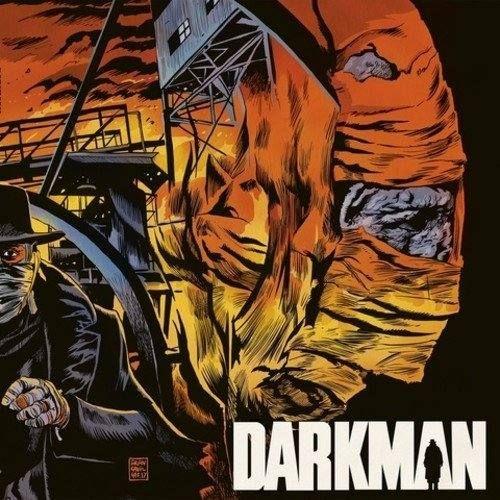 Original Motion Picture Soundtrack (Vinyl OST) from the movie Darkman (1990). Music composed by Danny Elfman.  #Darkman Soundtrack VINYL by #DannyElfman #SamRaimi #score #movie #superhero #soundtrack #tracklist