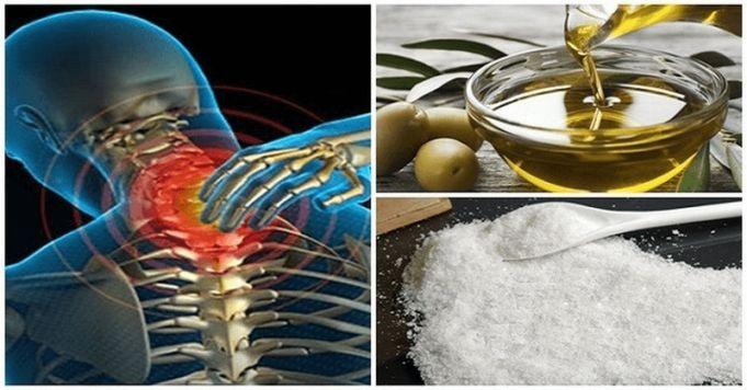 Smíchejte sůl s olivovým olejem a bolest neucíte dalších pár let