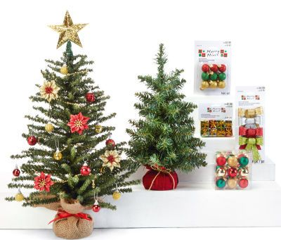 Minature burlap trees christmas pinterest burlap for Christmas trees at michaels craft store