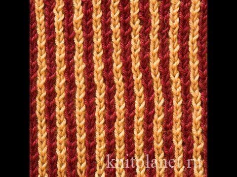 Предлагаем вашему вниманию видеоурок по вязанию двухцветной патентной резинки спицами.  Полотно получается рыхлым, объемным и теплым. Хорошо подойдет для вязания шарфов. Вяжется легко и быстро. Схему узора смотрите на сайте: http://knitplanet.ru/uzor/uzori-spicami/rezinki/dvuhcvetnaya-patentnaya-rezinka  #ПланетаВязания #Узоры #УзорыСпицами #ПатентныеУзоры #Бриош #ДвухцветнаяПатентнаяРезинка