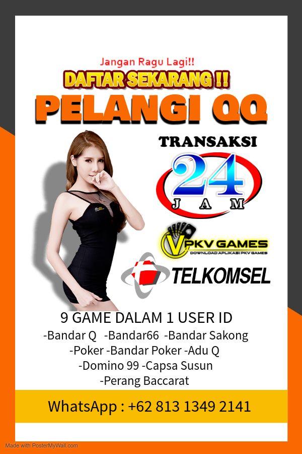Pelangi Qq Di 2020 Poker Kartu Pelangi
