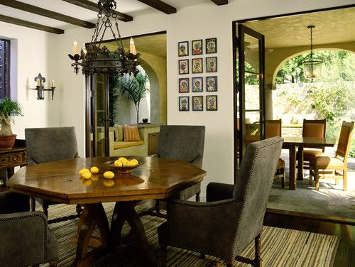 Mediterranean classic. Tommy Chambers Interiors.