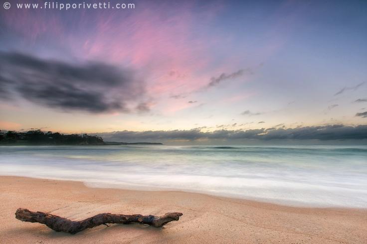 Placid    Sunrise at North Broulee Beach