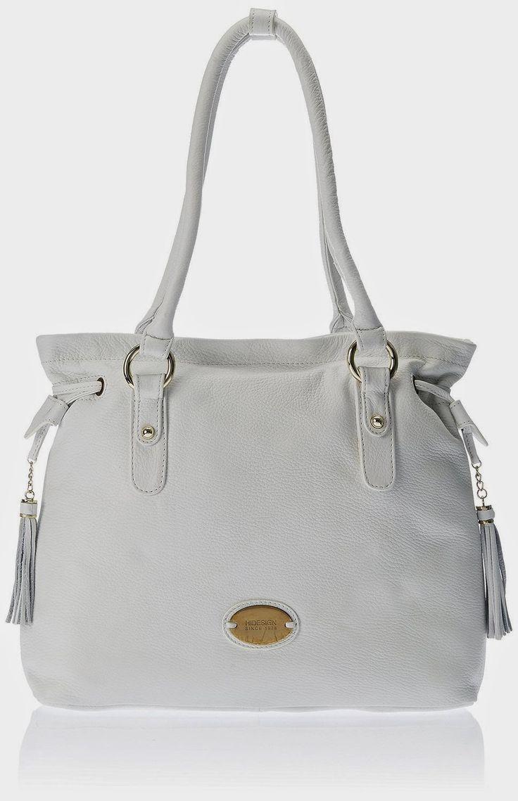 Hidesign Kimono 01 Handbag (White)