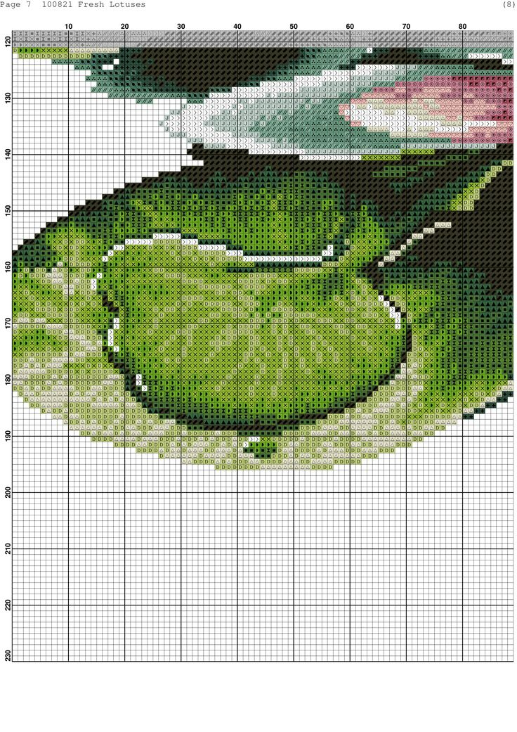 Cross-stitch patterns - Borduur patronen (12)
