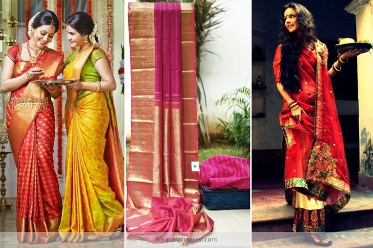 different types of sarees and names