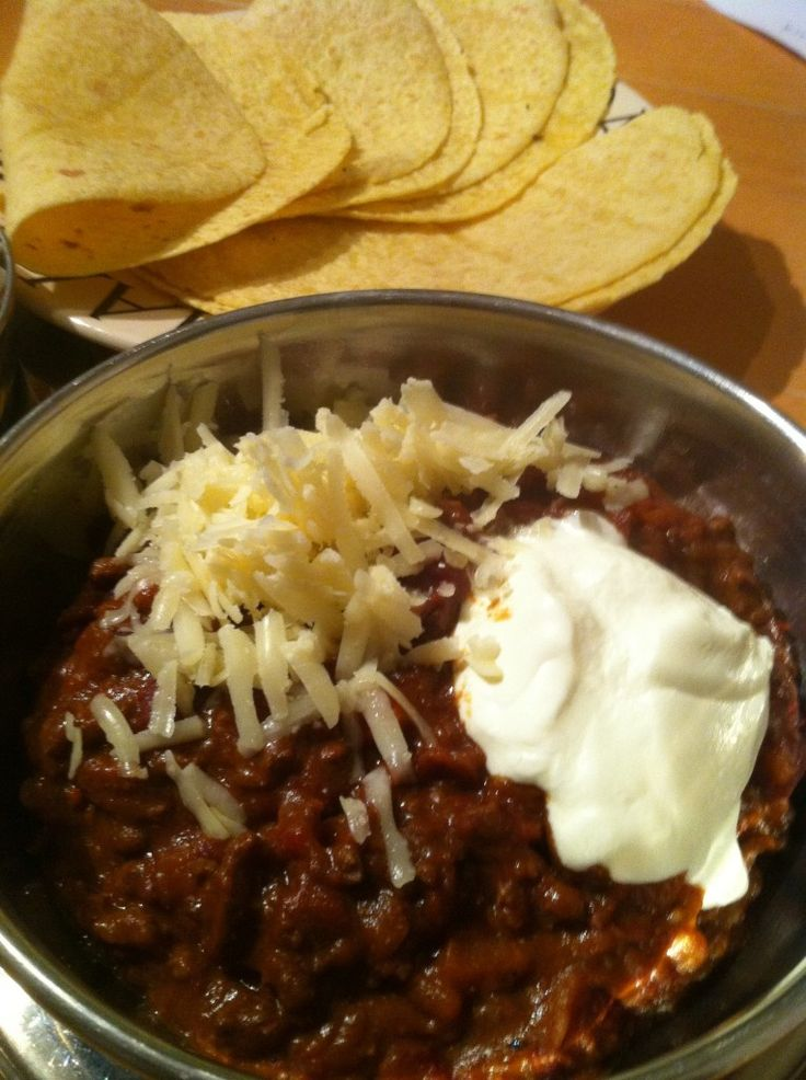 Chili con carne, Heston Blumenthal.