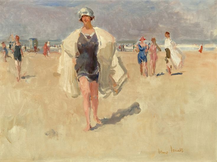 Strandgezicht - Isaac Israels