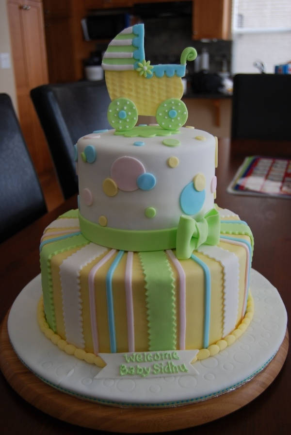 36 Best Gender Neutral Cake Images On Pinterest Baby Showers