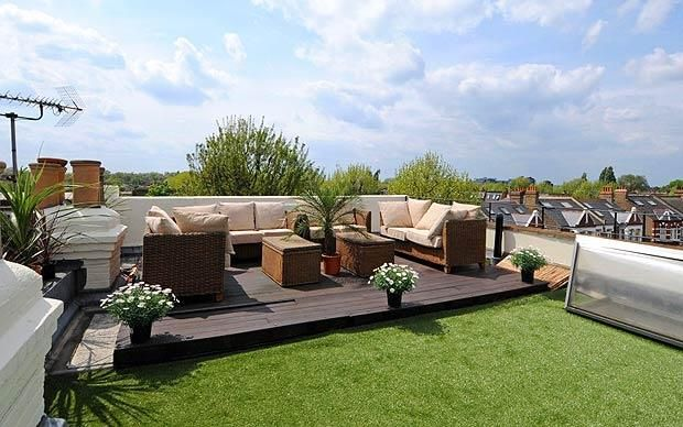 On the property market homes with a roof terrace plus for The terrace land and house