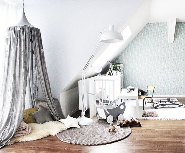 The perfect styling ✨ Numero74 silver grey canopy rules in this room