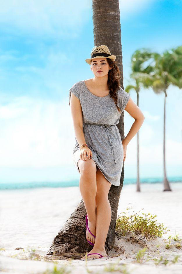 21 Photos Of H New Plus-Size Swimwear Model Jennie Runk