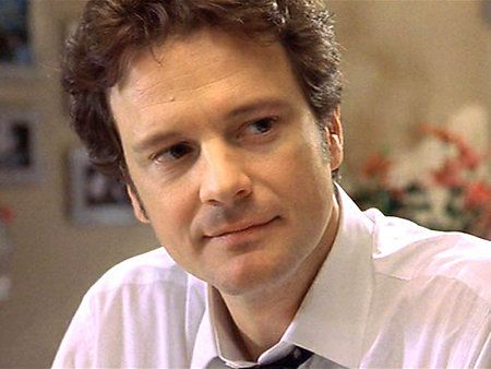 Colin Firth, as Mark Darcy in Bridget Jones's Diary. Easily my favorite still from the movie. That subtle smile that speaks volumes... ♥