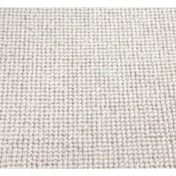 Manx Natural Shades Plain London Stone 50% Wool 50% Polypropylene Beige Loop Carpet - Manx from All Floors UK