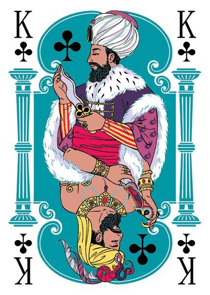Perverted playing cards. by Elena Dolgova