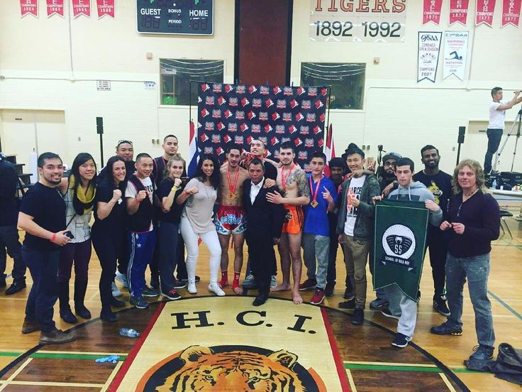 True force of a team! Thank you to all our supporters for showing up and cheering our fighters in today. #family #forceofateam #fighters #team #mates #southsidemuaythaiacademy #ssmta #toronto #ontario #muaythaicanada #muaythaiontario #ifma #champions #teamcamps #naka #chang #singto #seux #waw