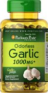 Buy Odorless Garlic 1000 mg 250 Rapid Release Softgels & other Food Supplements.  Garlic promotes heart & cardiovascular health & helps maintain cholesterol levels that are already within the normal range.