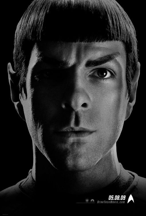 Zachary Quinto is Spock. I personally just love him.