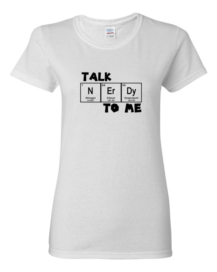Talk Nerdy To Me T-Shirt, Women's shirt by Spirit West Designs