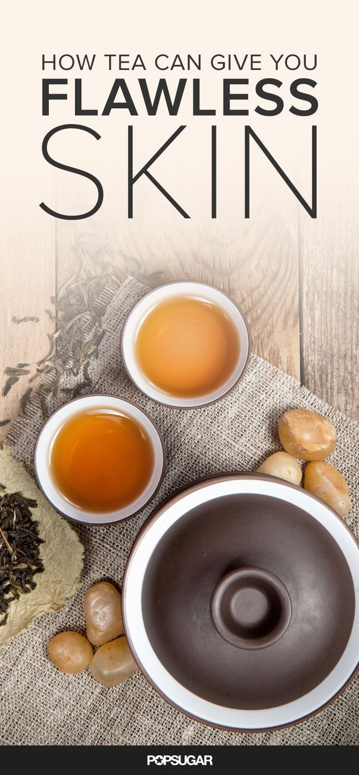 Drink yourself to clearer, brighter, younger skin with tea. You can also create DIY recipes using tea leaves for an antiaging skin treatment. Learn more with these easy beauty tips!