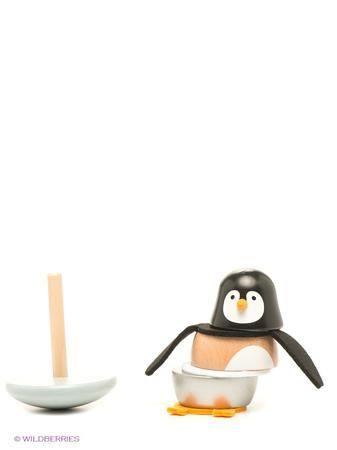 """Janod Игрушка-пирамидка """"Пингвинчик""""  — 1928р. ----------------- Игрушка качалка """"Пингвинчик"""" отличный подарок для самых маленьких. Французский производитель Janod позаботился о том, что бы сделать эту игрушку максимально привлекательной и безопасной для малышей. Игрушка выполнена из натуральной экологически чистой древесины и окрашена безвредными красками на водной основе.   Эта игрушка многофункциональна. Яркая и забавная фигурка разбираются на составные части и ребенку придется ��риложить…"""