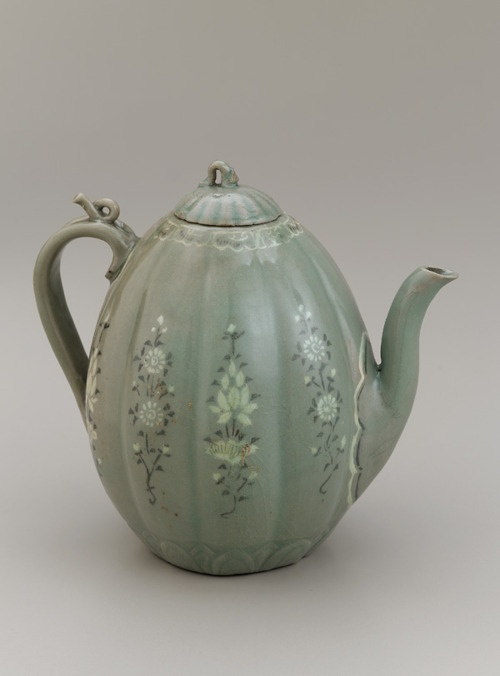 *Ewer.    Korea, 12th-13th century.    The Smithsonian Asian Art Museum.
