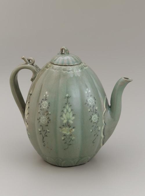 *Ewer.    Korea, 12th-13th century.    The Smithsonian Asian Art Museum.
