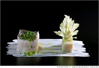 SPAIN - One of the top 10 restaurants in the world - Arzak in San Sebastian features new Basque cuisine.