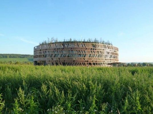 Gorgeous Wood-Wrapped Alesia Museum Opens in Burgundy, France | Inhabitat - Sustainable Design Innovation, Eco Architecture, Green Building