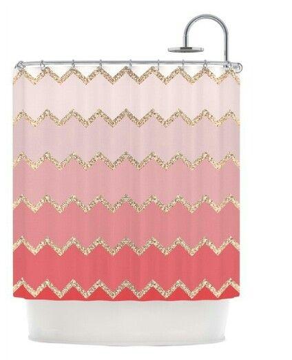 Fancy shower curtain