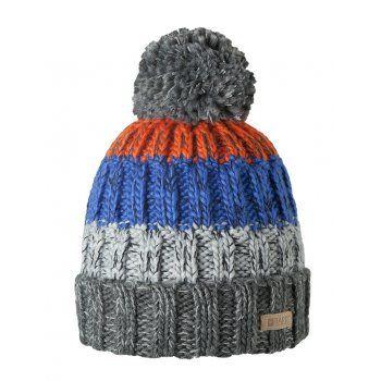 Barts Wilhelm Beanie Ski Hat in Dark Heather