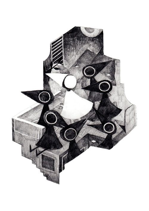 Some Monument Valley fan art. Love this game. By Luis Yangsuscrofad.tumblr.com