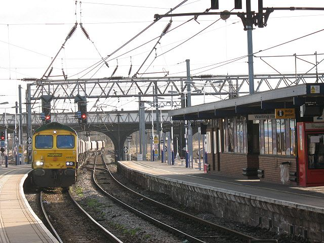 Bedford Railway Station (BDM) in Bedford